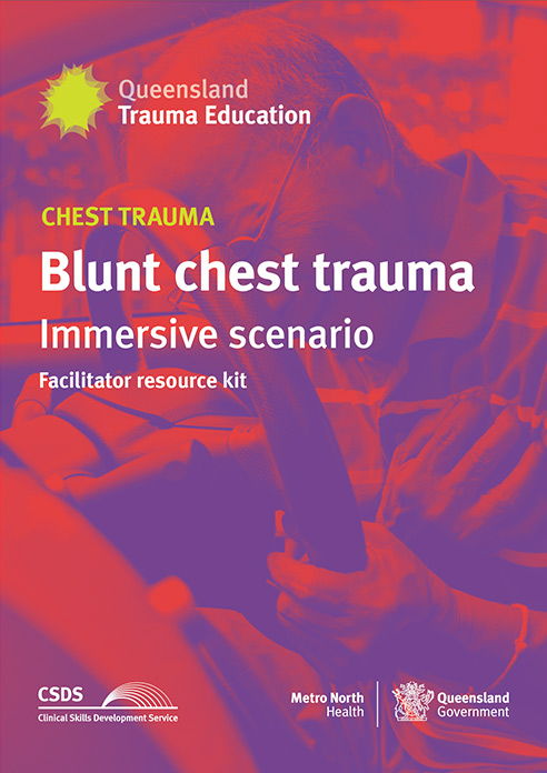 Cover image of Blunt chest trauma