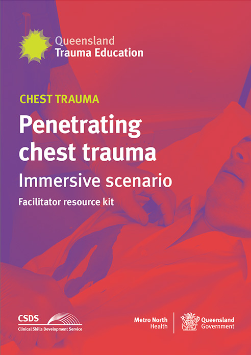 Cover image of Penetrating  chest trauma