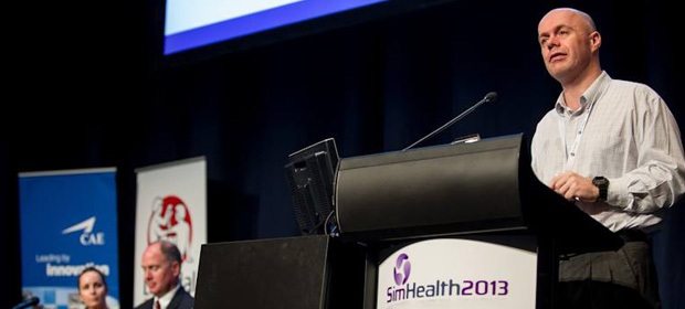 CSDS on world stage at SimHealth Conference