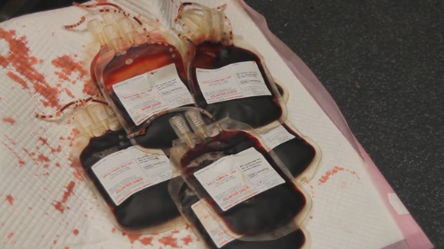 Making simulated blood