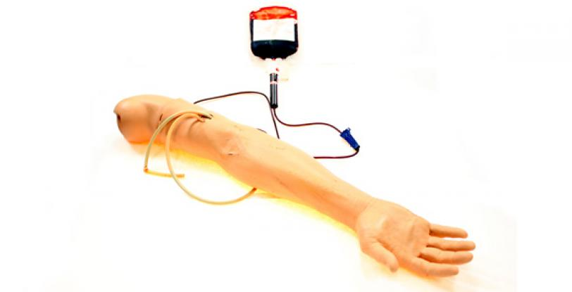 Male Multi-Venous IV arm