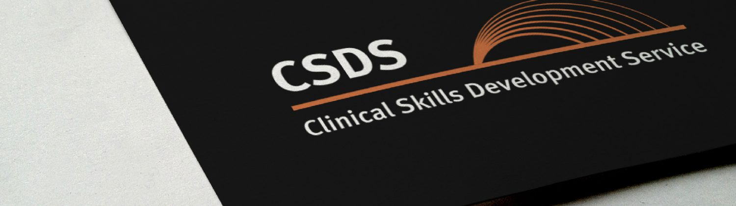 CSDS logo on paper