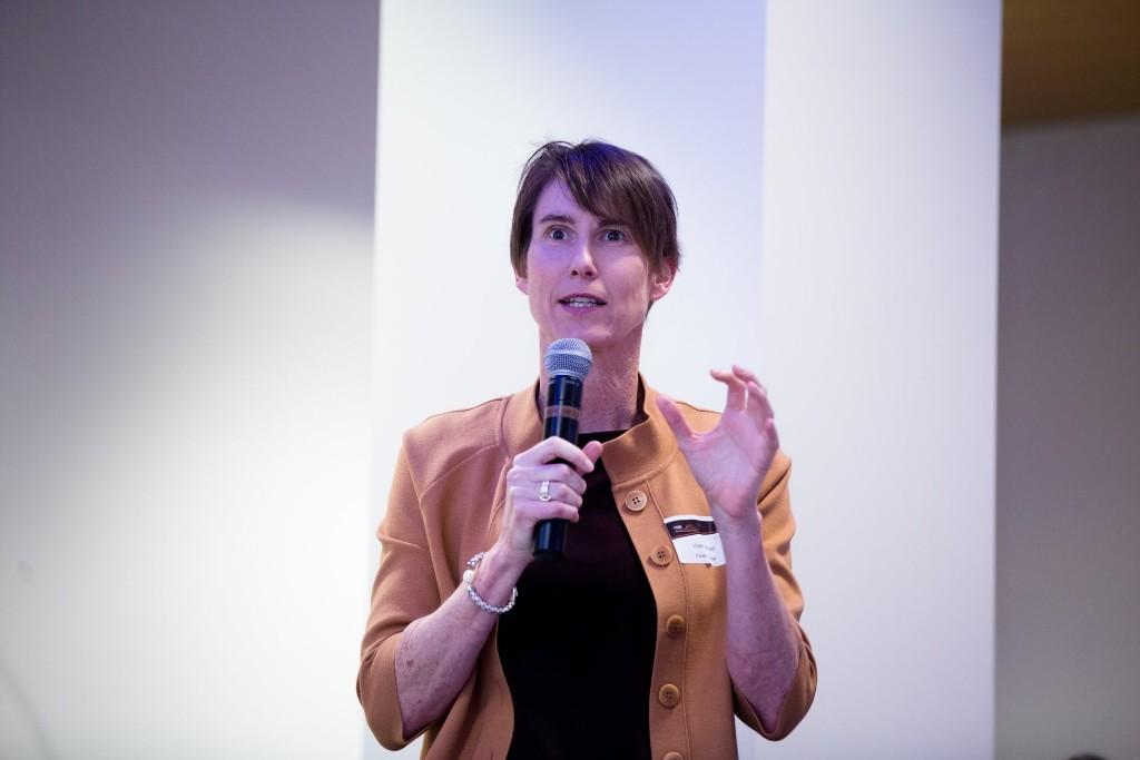 Dr Victoria Brazil sharing inspiring insights