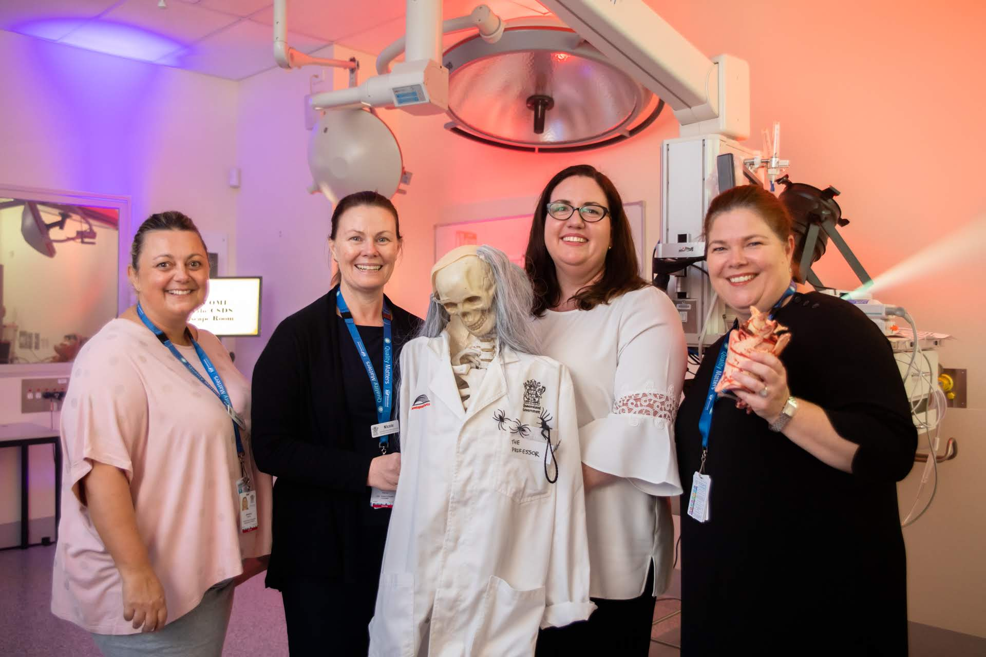 Escape room team at Healthcare Simulation Week 2019