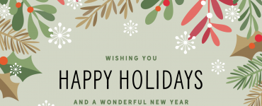 An illustration saying happy holidays from CSDS