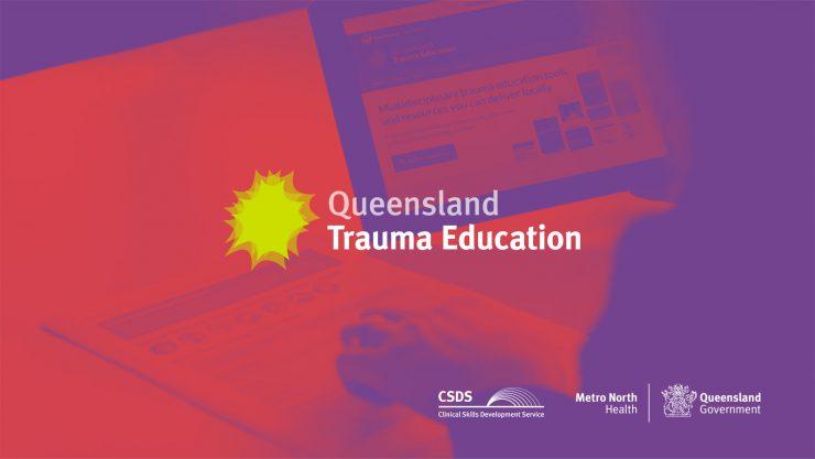 Queensland Trauma Education logo