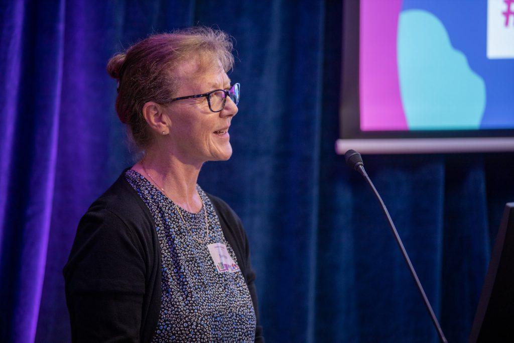 Sue Hampton launches MEPcast.